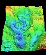Crater map American Geophysical Union