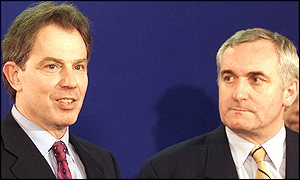 Tony Blair and Bertie Aherne