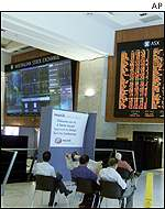 Australian Stock Exchange in Sydney