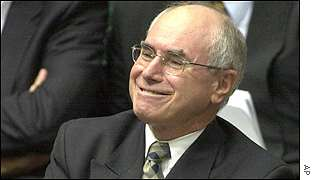 Australian PM John Howard