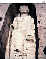 Giant Buddha at Bamiyan