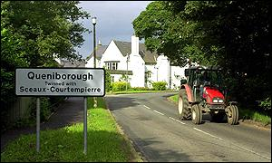 The village of Queniborough
