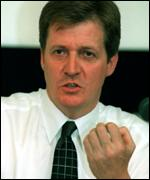 The prime minister's spokesman Alastair Campbell