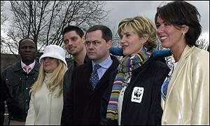 Chris Eubank, Vanessa Feltz, Keith Duffy, Jack Dee, Anthea Turner and Claire Sweeney