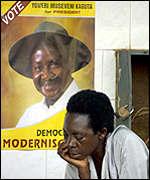 Museveni poster