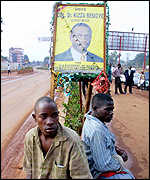 Besigye campaign poster