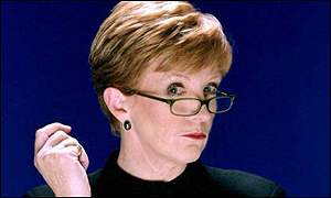 Presenter Anne Robinson