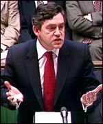 Gordon Brown; high satisfaction rating with voters