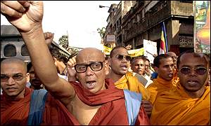 Buddhists in Calcutta