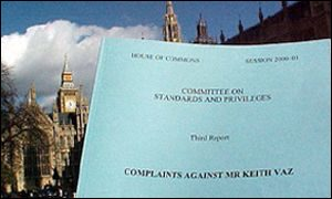 Commons committee report