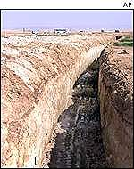 The trench around Jericho