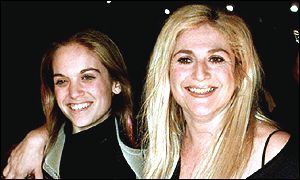 Vanessa Feltz and daughter