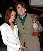 Jonathan Ross with Amanda Donohoe