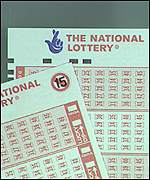 A National Lottery ticket
