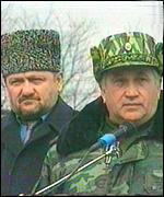 Mr Kadyrov and Gen Baranov