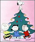 Peanuts at Christmas