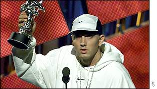 Eminem at the 2000 MTV Music Awards