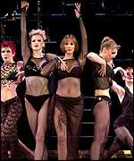 A scene from the musical Chicago