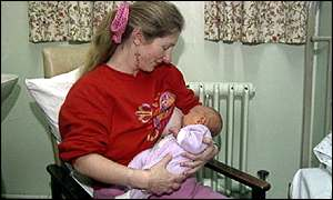 Breast feeding has many health benefits