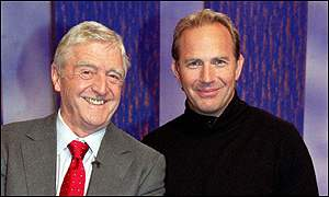 Kevin Costner and Michael Parkinson