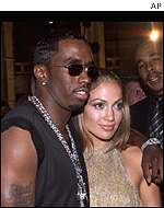 Sean Combs and Jennifer Lopez