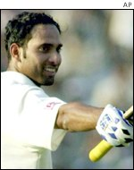 Indian Test batsman V.V. Laxman
