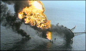 Piper Alpha disaster, July 1988