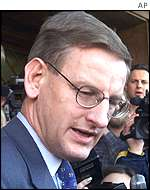 UN Envoy Carl Bildt in Macedonia