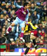 Juan Pablo Angel of Aston Villa