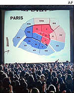 Election results in Paris
