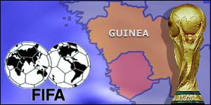 Guinea is banned by Fifa from all international competitions