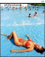 Holiday-maker in Turkey AP
