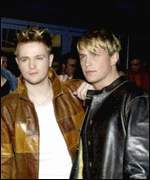 Kian Egan (on right)