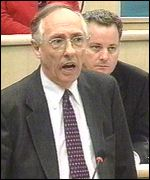 The late First Minister Donald Dewar