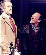 Dennis Waterman and Jonathan Pryce