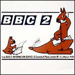 BBC Two launch postcard