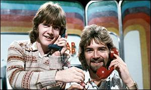 Keith Chegwin and Noel Edmonds