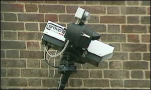 Security cameras  can act as a deterrent to crime