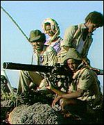 Ethiopian rebels in 1991