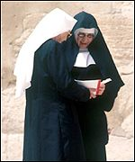 Nuns in Jerusalem