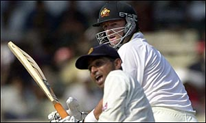 Mark Waugh made 57 in Australia's second innings