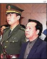Cheng Kejie, sentenced to death for corruption