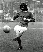 George Best in 1976