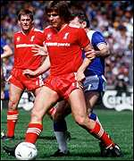 Jan Molby in action for Liverpool