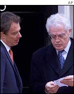 Tony Blair and Lionel Jospin