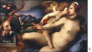 Venus revealed as she was originally painted