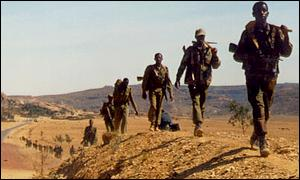 Ethiopian troops pulling back