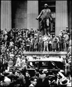 The Wall Street crash of 1929