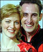 Marika Humphreys and Vitaliy Baranov of Great Briain