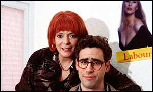 Alison Steadman and Stephen Mangan